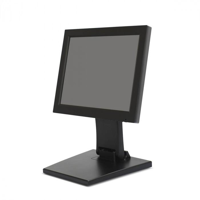 Сенсорный POS-монитор MERTECH CT-12TM c подставкой Folding в Казани