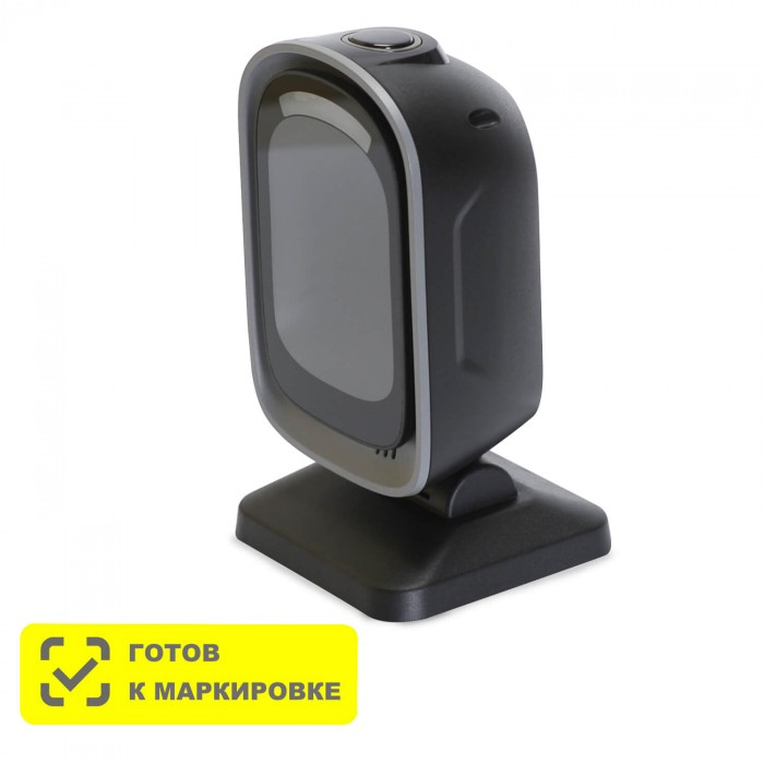 Стационарный сканер штрих-кода MERTECH 8500 P2D Mirror Black в Казани