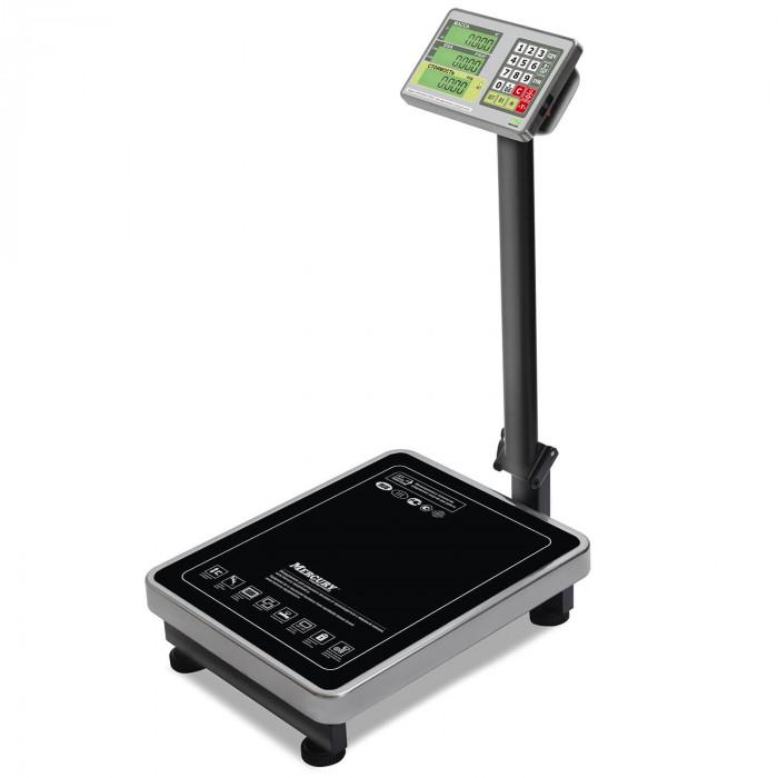 """Торговые напольные весы M-ER 335 ACLP-150.20 """"TURTLE"""" с расчетом стоимости товара LCD в Казани"""