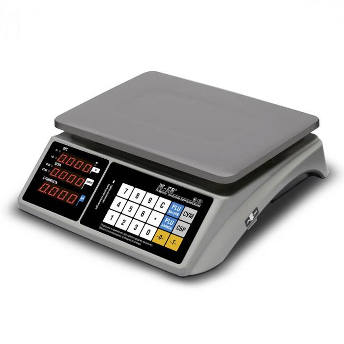 """Торговые настольные весы M-ER 328 AC-32.5 """"TOUCH-M"""" LED RS232 и USB в Казани"""