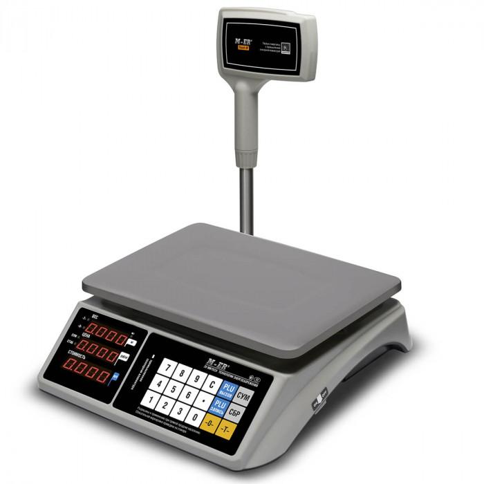 """Торговые настольные весы M-ER 328 ACPX-32.5 """"TOUCH-M"""" LED RS232 и USB в Казани"""